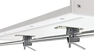 Magma Products Grill Mounting Hardware, Dual Horizontal Round Rail Mount