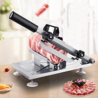 Anbau Manual Frozen Meat Slicer Beef Slicing Machine Mutton Cutter Stainles Steel