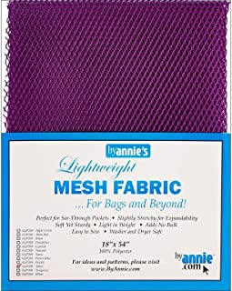 by Annie Mesh Fabric Lightweight 18x54 Tahiti