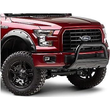 Rough Country Black Bull Bar fits 2011-2019 Ford F150 Eco Boost B-F2112 F-150 Pickup Eco Bull
