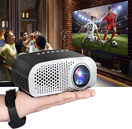 $325 Get Yirind Mini Portable Projector Home Smart Cinema Theater LED Projector Video Projectors,Black