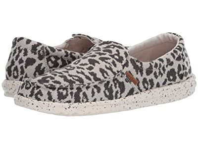 Hey Dude Misty Woven (Cheetah Grey) Women