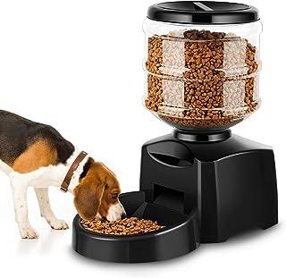 Amzdeal Comedero Automático Gatos y Perros 5.5L,
