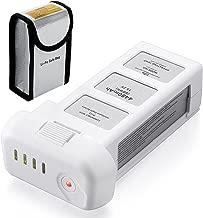 Powerextra 15.2V 4480mAh LiPo Intelligent Battery Replacement Battery + Battery Safe Bag for DJI Phantom 3 SE, Professional, Phantom 3 Advanced, Phantom 3 Standard, 4K Drones
