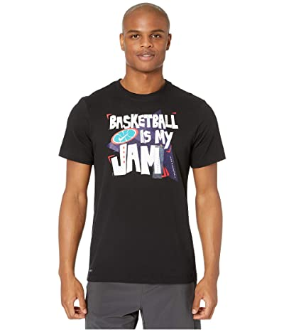 Nike Dry Tee Basketball Jam (Black/Black/Game Royal) Men