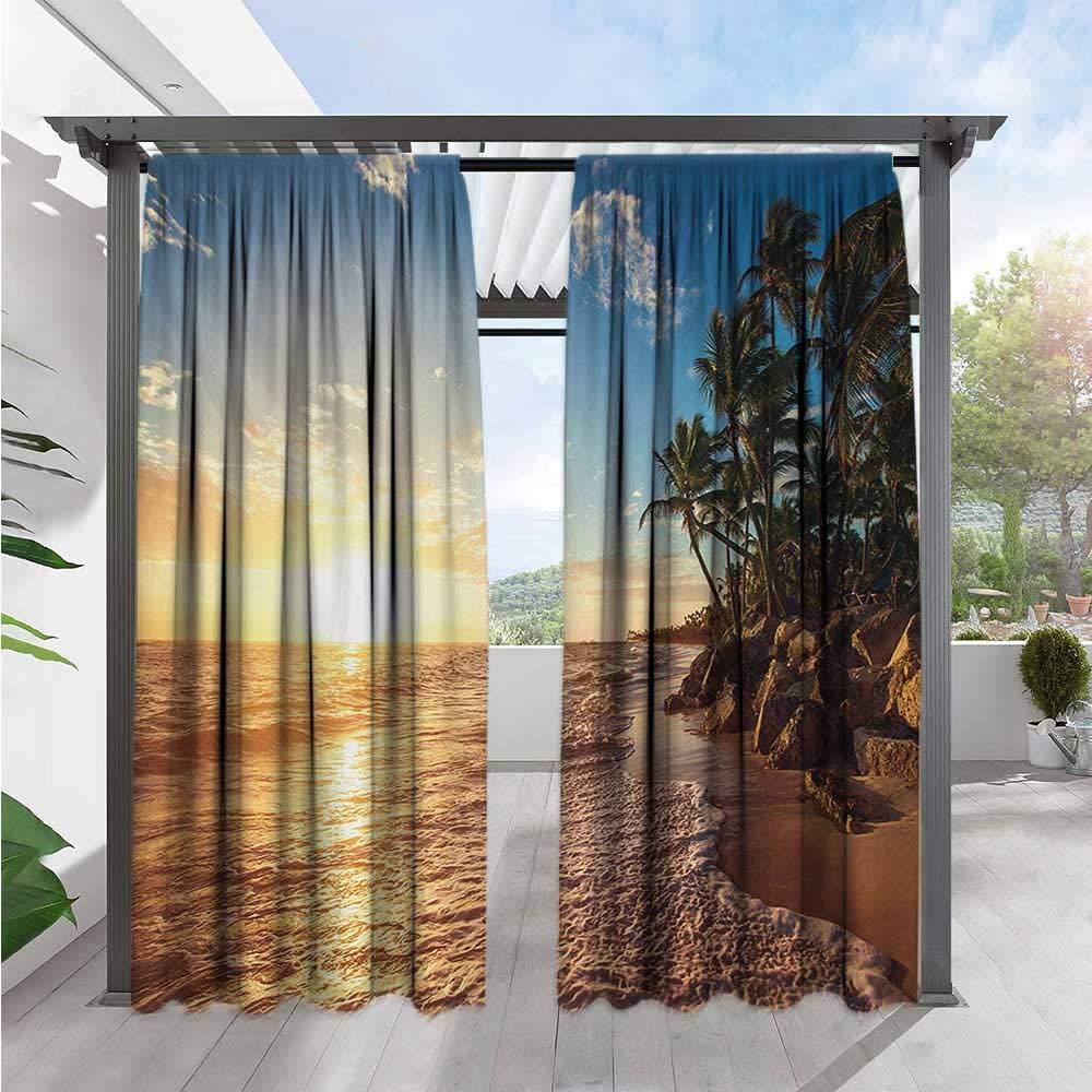 bybyhome - Cortinas de Porche, diseño de piñas Tropicales ...