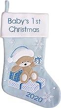 MaxDigital Babys First Christmas Stocking 2019, Christmas Fireplace Decor, My First Christmas Stockings for Baby Girl & Bo...