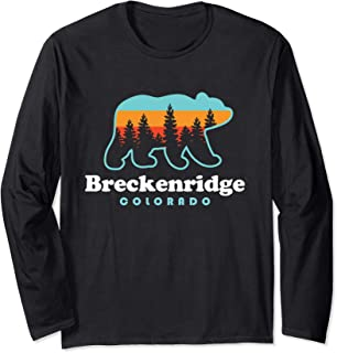 Breckenridge Colorado - Bear Breckenridge Long Sleeve T-Shirt
