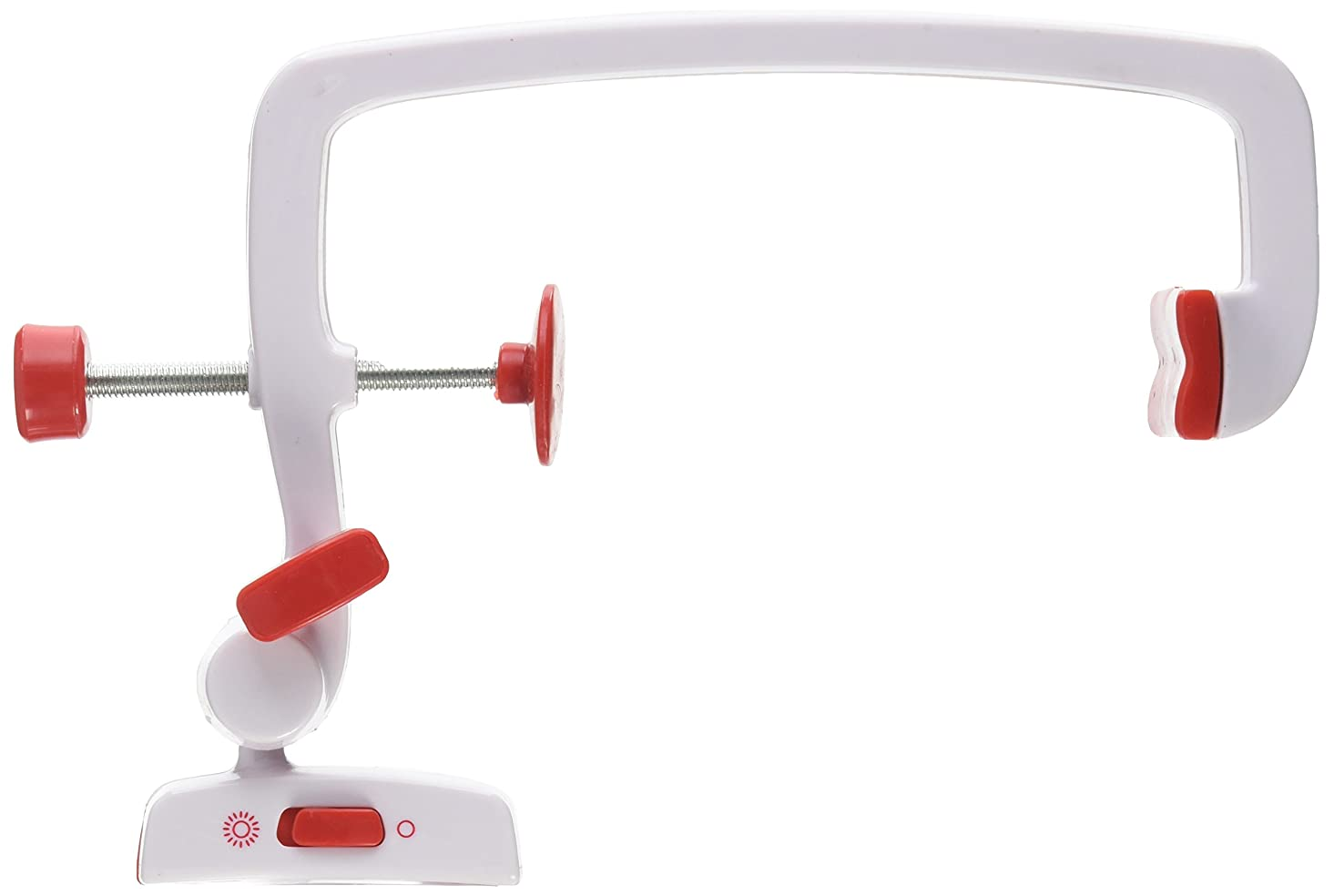 Wrights 55501020 Sewing Machine Magnifier, White and Red bgraq692538