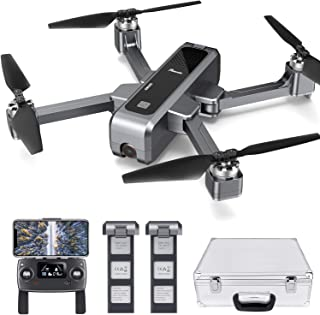 Potensic D88 FPV Drone with 4K Camera, 5G Foldable RC Quadcopter for Adults and Experts, GPS Return Home, Ultrasonic Altit...