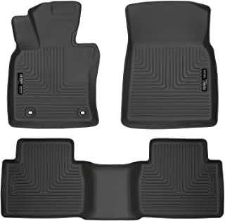 Husky Liners Fits 2018-19 Toyota Camry - will not fit hybrid models Weatherbeater Front & 2nd Seat Floor Mats