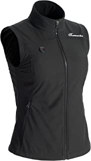 Tour Master 7.4V Synergy Womens Black Soft Shell Heated Vest - Large