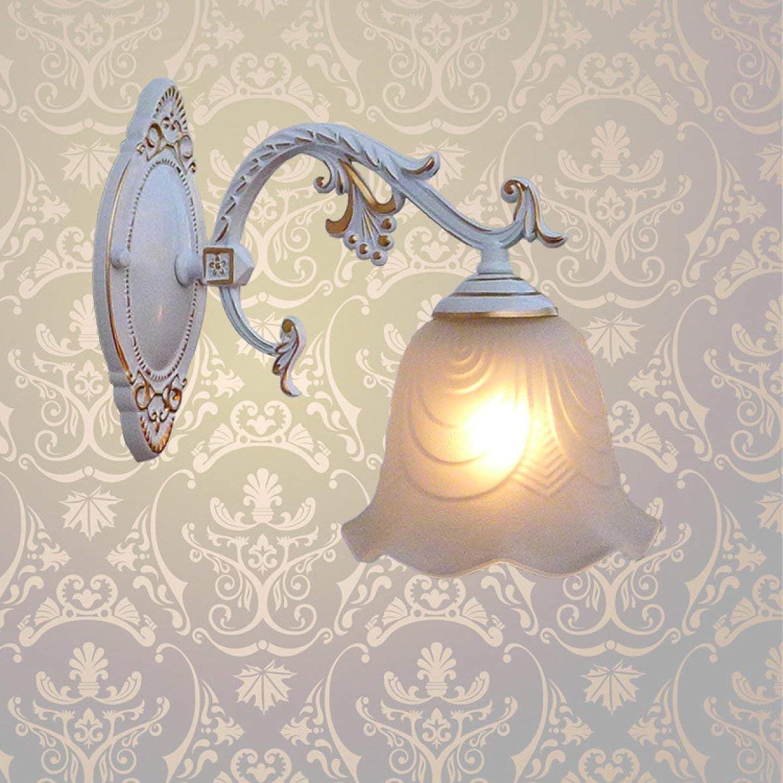HUAIX Home Moderne Einfache LED Nachttischlampe Schlafzimmer Kreative Wohnzimmer Treppenhaus Gang Wandleuchte (Farbe   B)