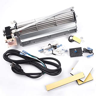 Replacement Fireplace Blower Kit for Monessen, Majestic, Martin, Vermont Castings Fireplaces, 12.5