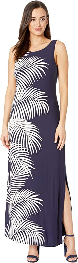 Gentlemen Prefer Fronds Maxi Dress