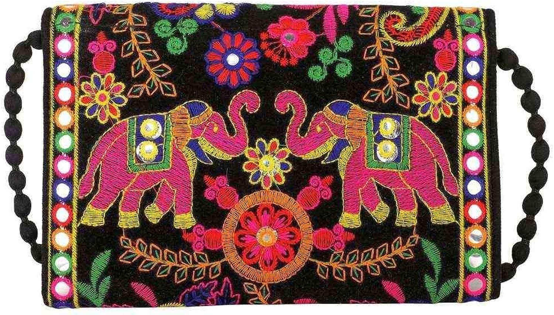 Wholesale 50 pc lot Bulk Indian Vintage Hand Bag Traditional Bridal Clutch Beaded Shoulder Bag potli Pouch Hand Bag Purses Women Purse by Craft place-82