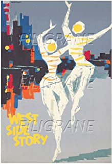 PostersAndCo TM West Side Story Rvpu-poster / kunstdruk 40 x 60 cm * d1 poster vintage/retro