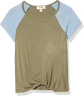 Speechless girls Twist Front Short Sleeve Tee T-Shirt