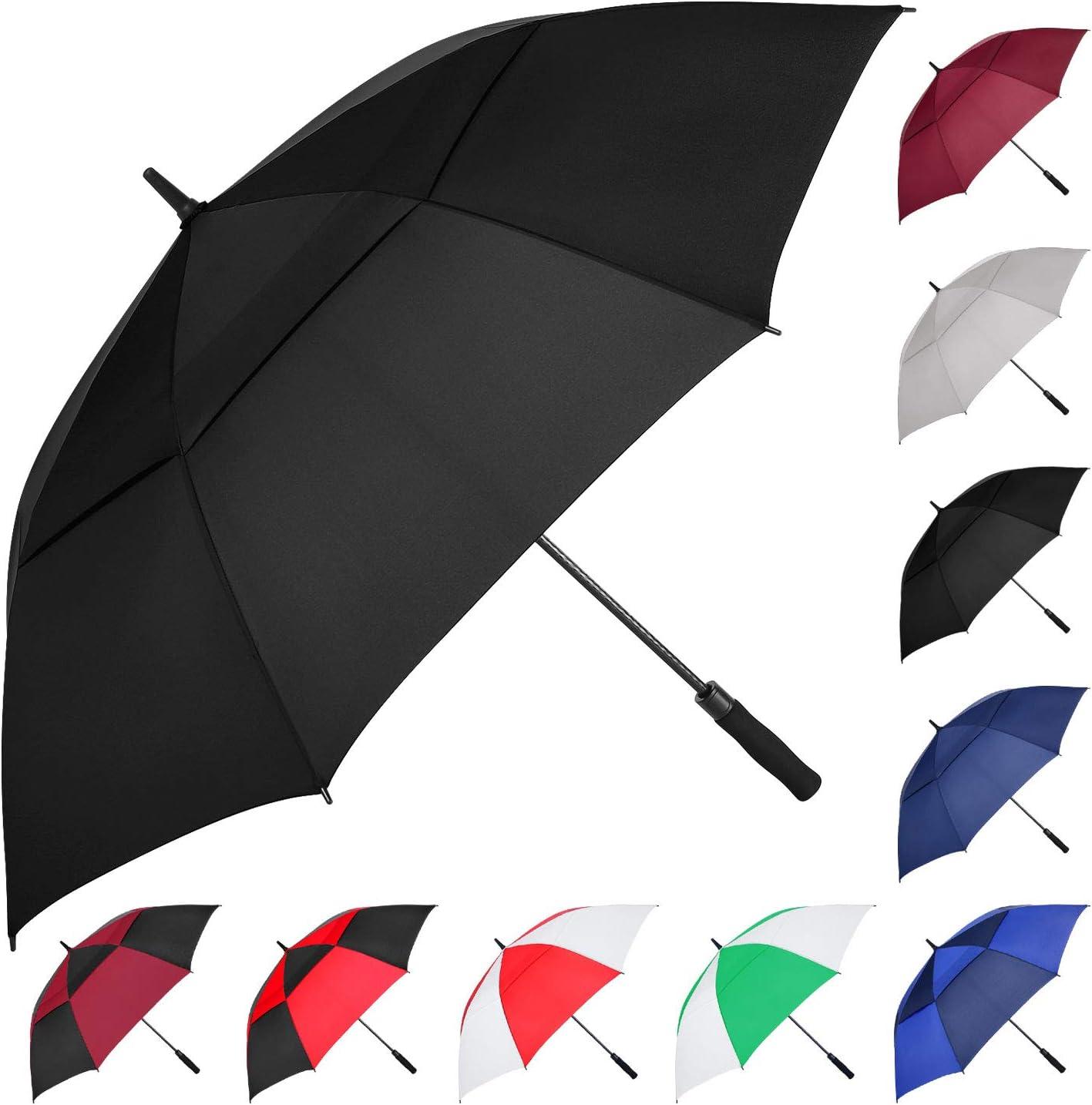 MRTLLOA Automatic Open Golf Portland Mall Umbrella Ove 62 Inch Sale special price Extra-Large 68