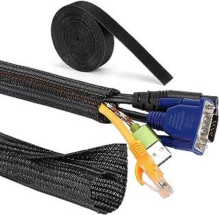 MOSOTECH Organizador Cables, 2 X 1.5m Cubre Cables