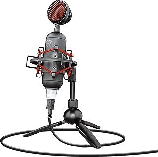 Trust GXT 244 Buzz Microfono streaming USB per PC, PS4 e PS5, Nero