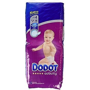 54 lingettes 4-8 kg 2-5 kg Dodot Sensitive Lingettes avec bo/îte distributrice Dodot Sensitive Couches Taille 1 68 couches 28 couches Couches Taille 2