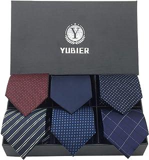 Yubier ネクタイ 6本セット ビジネス用