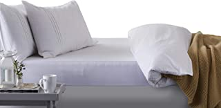 Hippychick Mattress Protector Fitted Sheet, 150 x 200 cm - King