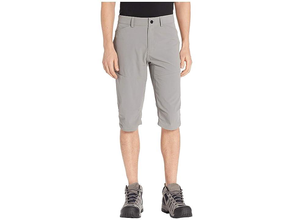 Image of Mountain Hardwear Logan Canyontm 3/4 Pants (Manta Grey) Men's Casual Pants
