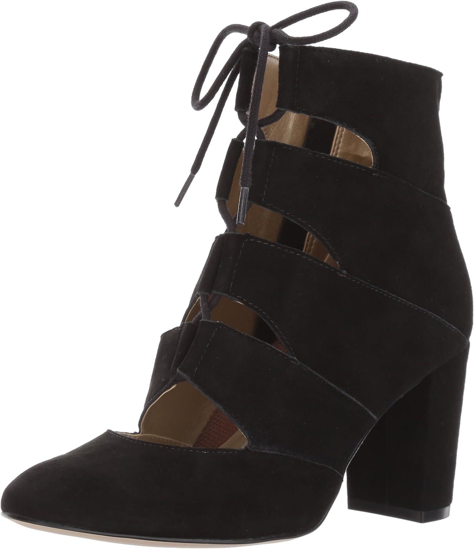 Walking Cradles Women's Devin Boot, Black Saddle, 6 M US