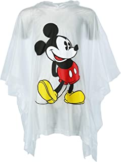 Jerry Leigh Disney Kid's Classic Mickey Mouse Rain Poncho