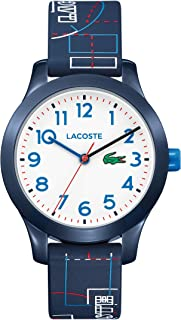 Lacoste L1212 White Dial Silicone Strap Unisex Watch 2030008