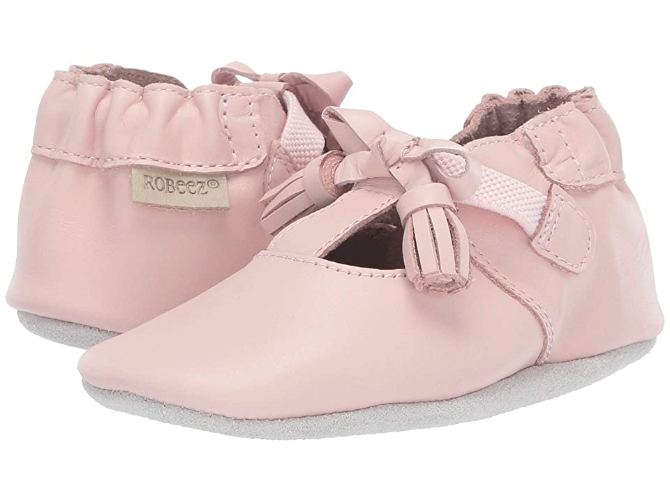 Robeez Meghan Soft Sole (Infant/Toddler) (Pink) Girl
