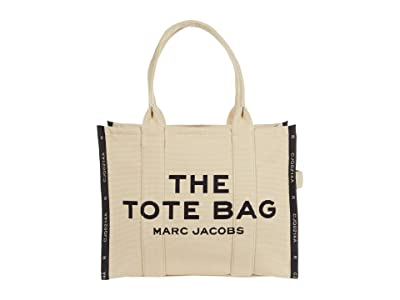 Marc Jacobs Jacquard Traveler Tote (Warm Sand) Tote Handbags