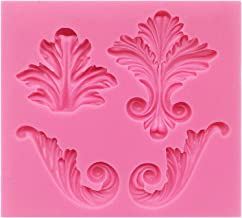Vintage Curlicue Lace and Scroll Silicone Mould for Cake Border Cupcake Topper Decoration, Sugar Paste, Chocolate, Fondant...