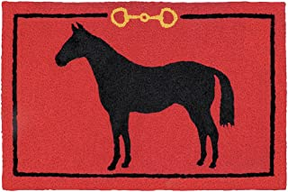 Jellybean Hunter Jumper Accent Rug