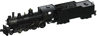 Bachmann Industries Baldwin 4-6-0 Steam Locomotive - Painted, Unlettered - Black N Scale - DCC on Board