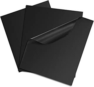 IIVVERR 16 x 13 Inch 3 Pcs BBQ Grill Mat Set Non-stick Barbecue Utensil Gas Charcoal Electric Cooking Sheet (16x13 Zoll 3 ...