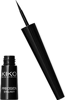 KIKO MILANO - Precision Eyeliner | Easy to Use Liquid Eyeliner with Fine Brush Applicator | Long Lasting Eyeliner Black | ...