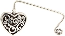 Brighton Contemporary Heart Handbag Hook