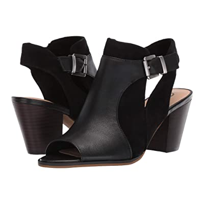 Bella-Vita Kellan (Black Leather) Women