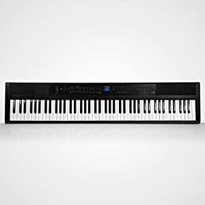 Artesia PE-88   88 Key Digital Piano/Keyboard with Semi Weighted Action & Built In Speakers + 130 Premium 3D/3 Layer Voices & 100 Rhythms Fully Orchestrated + Power Supply + Sustain Pedal