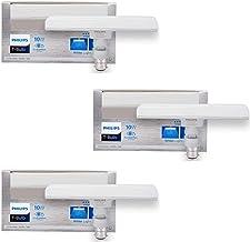 Philips T Bulb 10 Watt LED Bulb, Base B22 (White, Pack of 3)