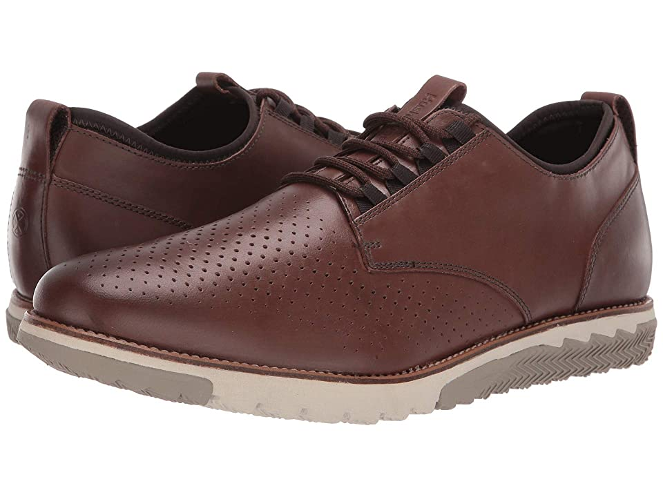 Hush Puppies Expert Perf Oxford (Saddle Brown Leather) Men