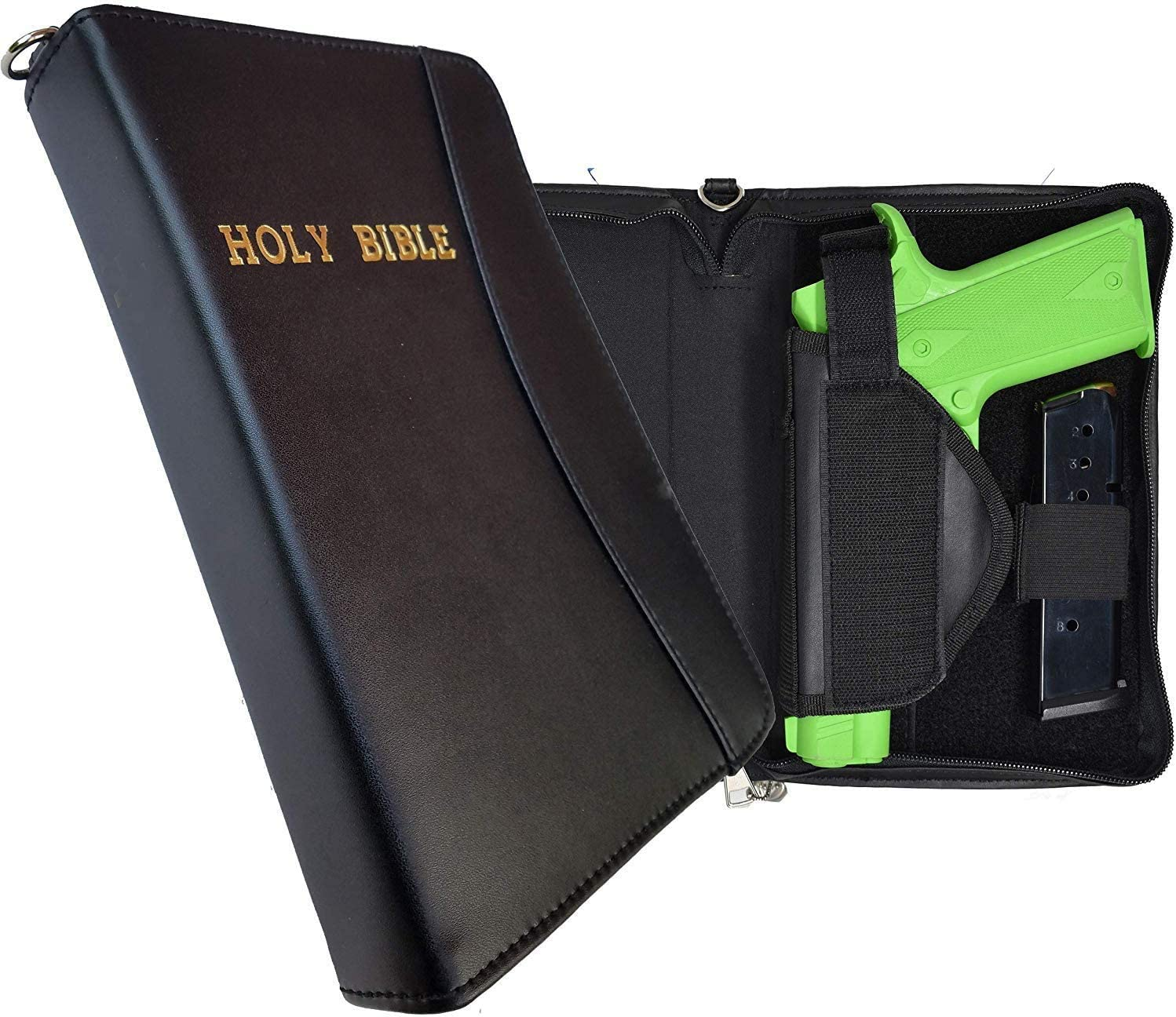 Garrison Challenge the lowest price Grip Soft Leather Excellent Locking Carry for Case Zipper Storage