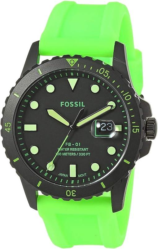 FS5683 Black Neon Green Silicone