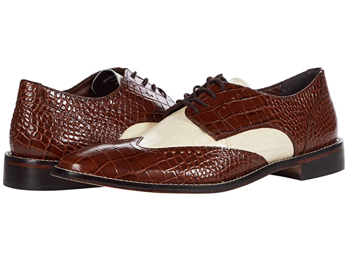 Mens Vintage Shoes, Boots | Retro Shoes & Boots Stacy Adams Ferrara Wing Tip Oxford $62.61 AT vintagedancer.com