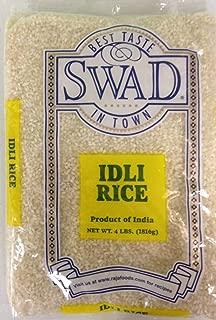 Indian Groceries, Swad Idli Rice - 4lbs., 1.81kg