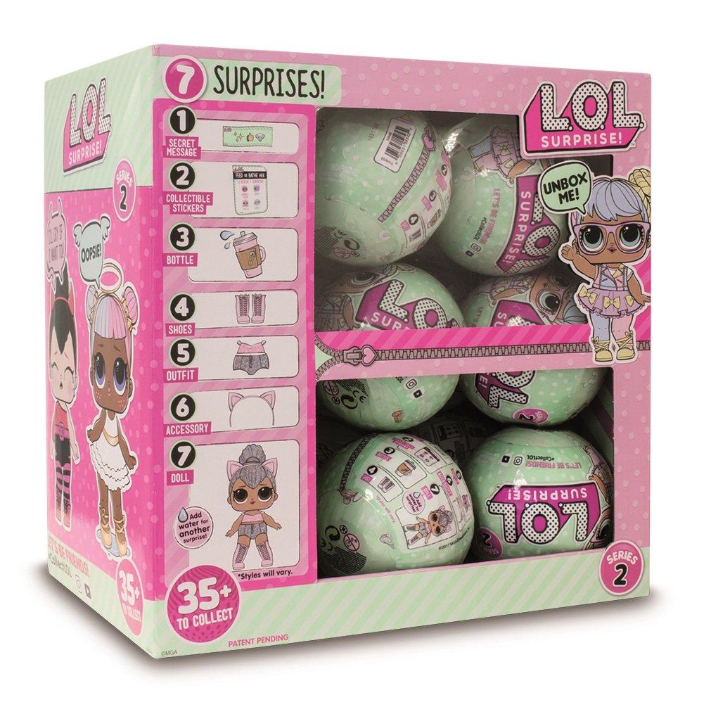 Amazon.es: Lol- Serie 2 Surprise Muñeca Sorpresa, Color Surtido (Giochi Preziosi LLU07000): Juguetes y juegos