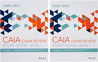 Wiley Study Guide for 2020-2021 Level I CAIA Exam: Complete Set